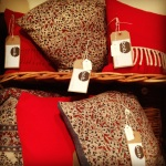 Bob cushions : upcycled gorgeousness from £25